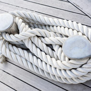Corda legata ad una barca